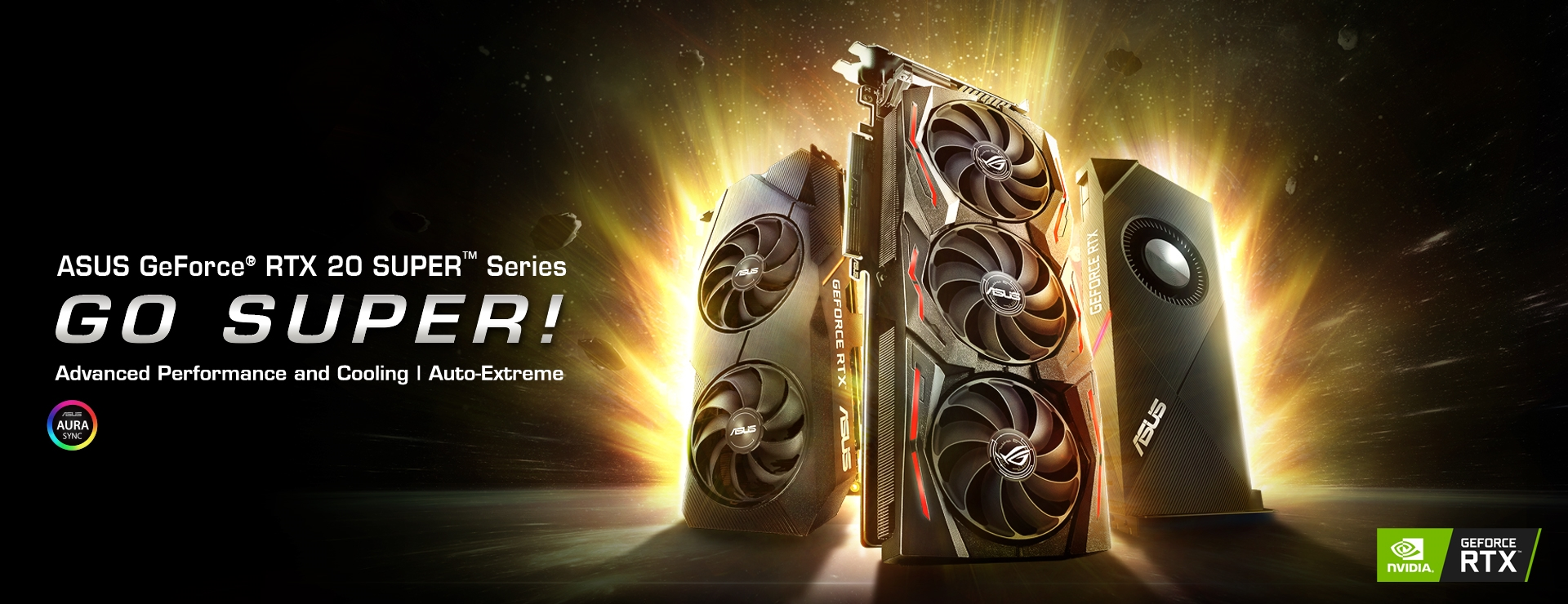 Product Home Page Hero Banner - RTX 20