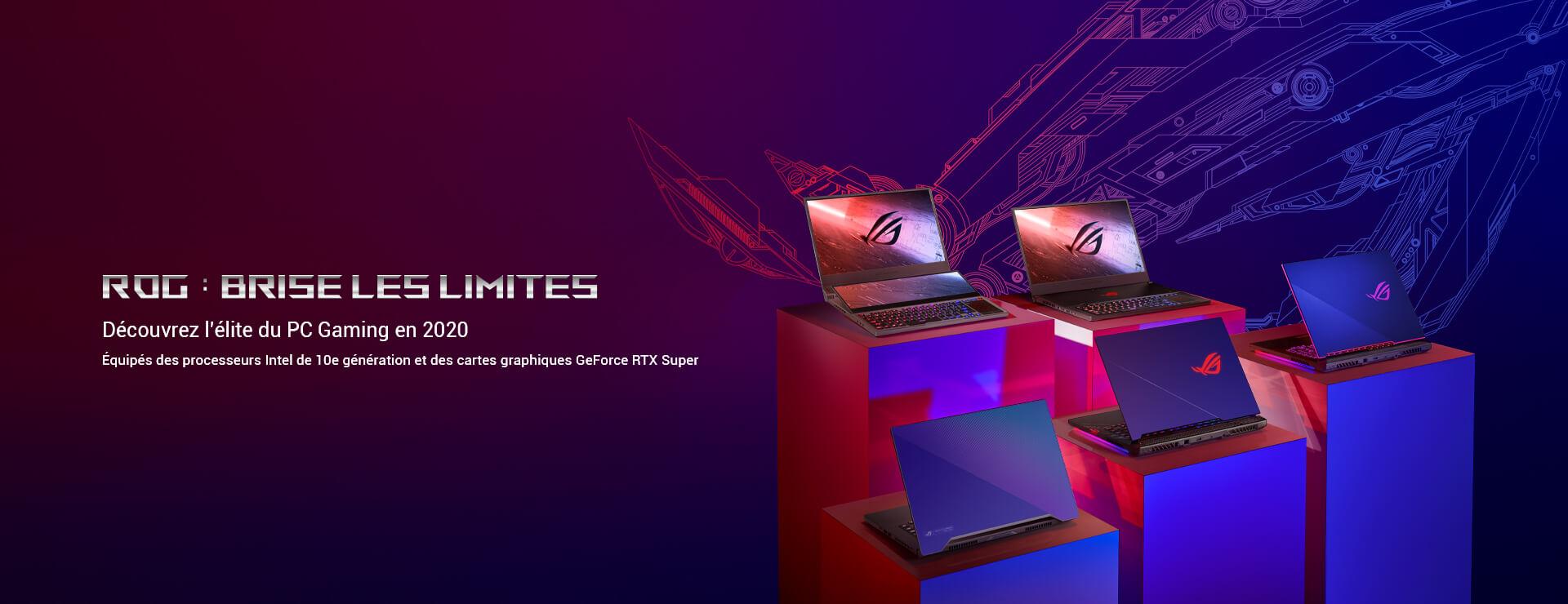 PC portables ROG