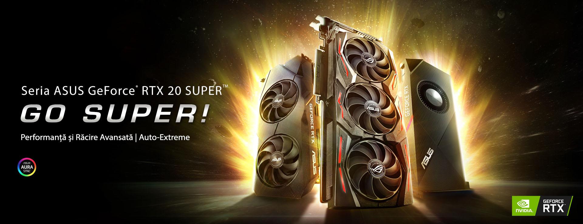 Seria ASUS GeForce RTX 20 SUPER