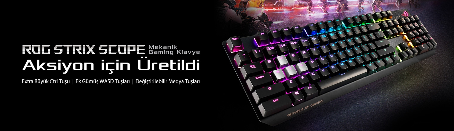 Aura RGB Klavye